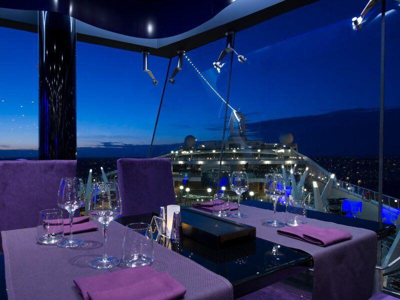 Bar Panoramique du bateau de croisière MSC Preziosa