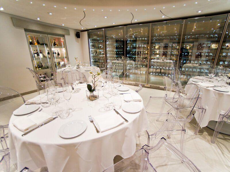 Restaurant italien  du bateau de croisière MSC Preziosa