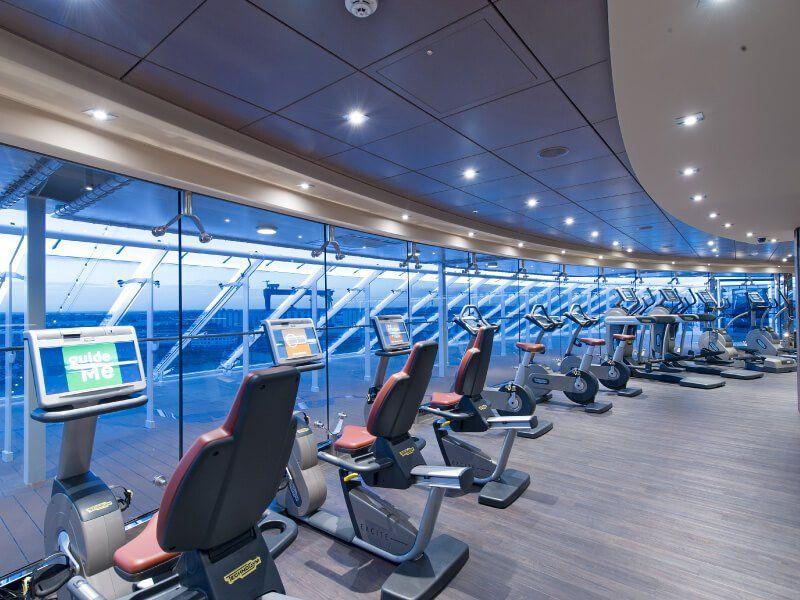 Salle de sport du bateau de croisière MSC Preziosa