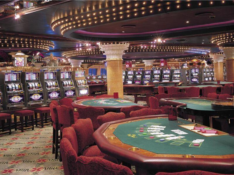 Casino du bateau de croisière Carnival Conquest