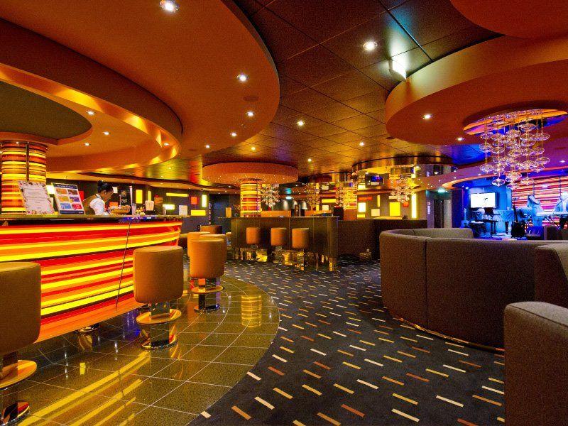 Bar Jazz à bord du bateau de croisière MSC Divina