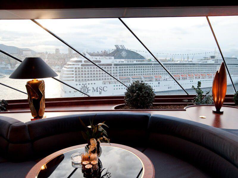Bar Panoramique du bateau de croisière MSC Splendida