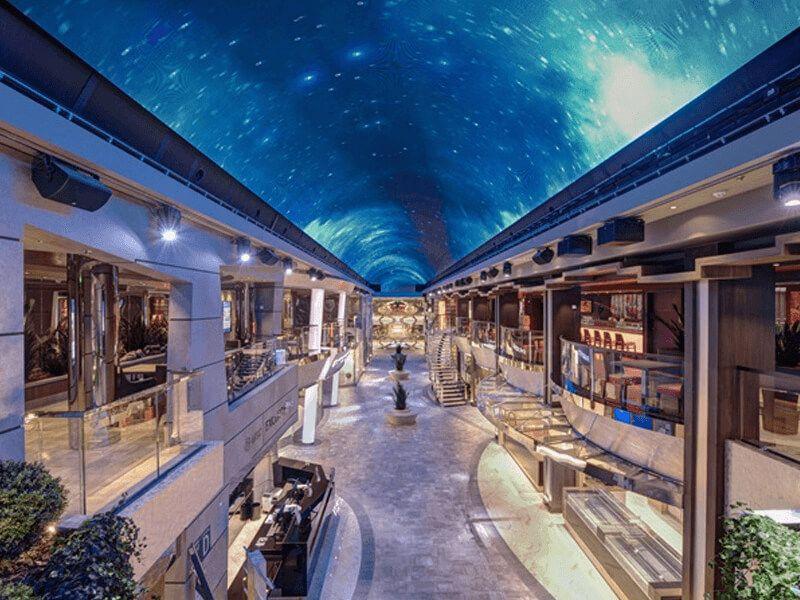 Galerie du bateau de croisière MSC Virtuosa