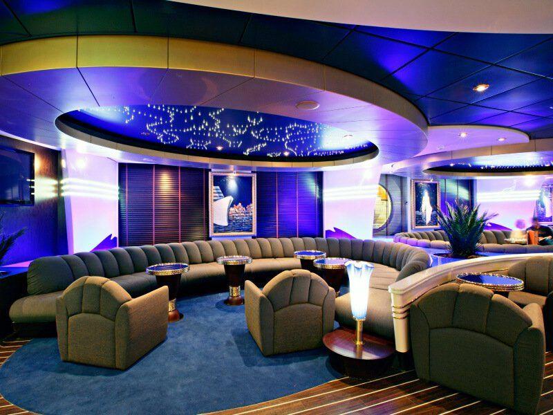 Deuxième Bar du bateau de croisière MSC Fantasia