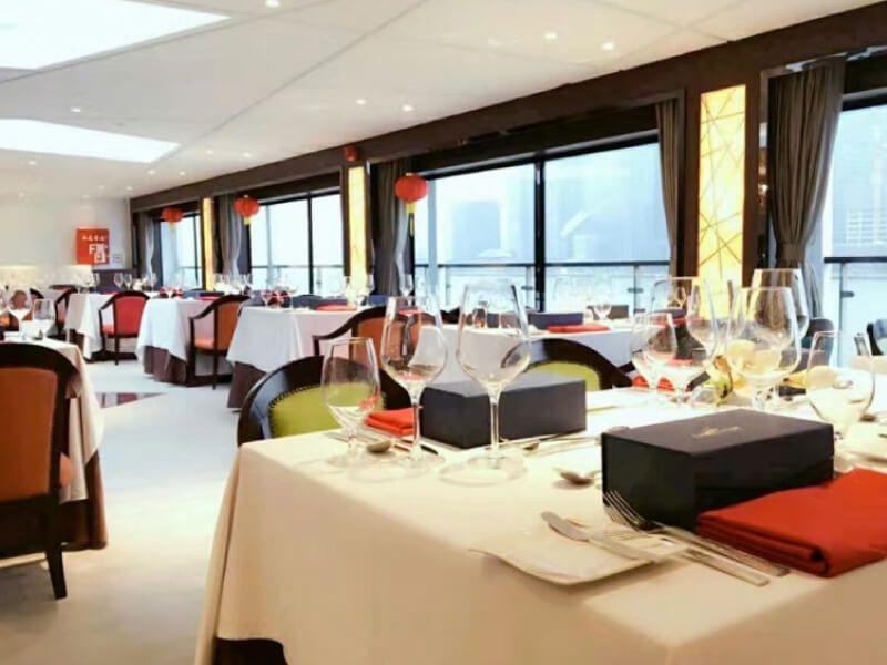 Restaurant du bateau MS Century Legend