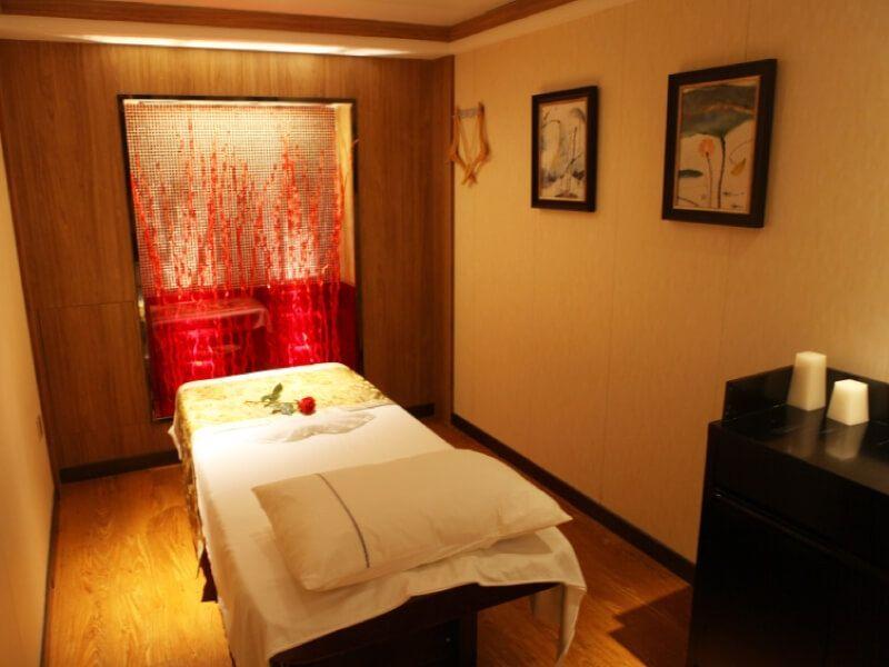 Salle de massages du bateau MS Century Legend
