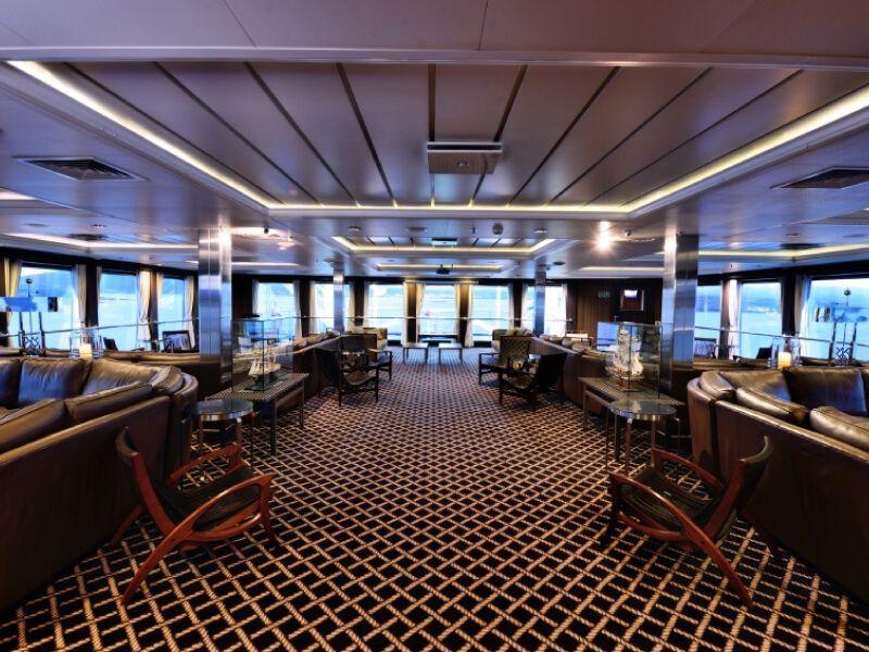 Salon sky du bateau MV Stella Australis
