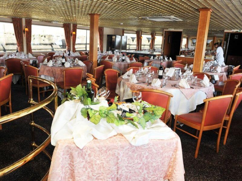 Restaurant du bateau MS Rhône Princess