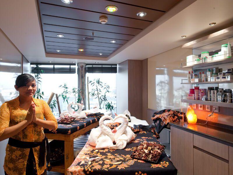 Salle de massage du bateau de croisière MSC Magnifica