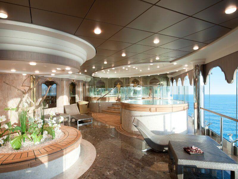 Spa Jacuzzi du bateau de croisière MSC Magnifica
