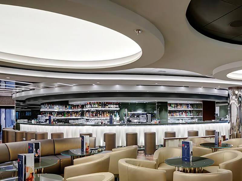 Bar avec vue Panoramique à bord du MSC Seashore