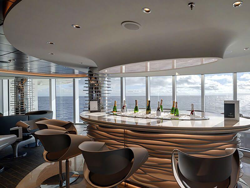 Vue numéro 3 d'un des restaurants du MSC Seashore