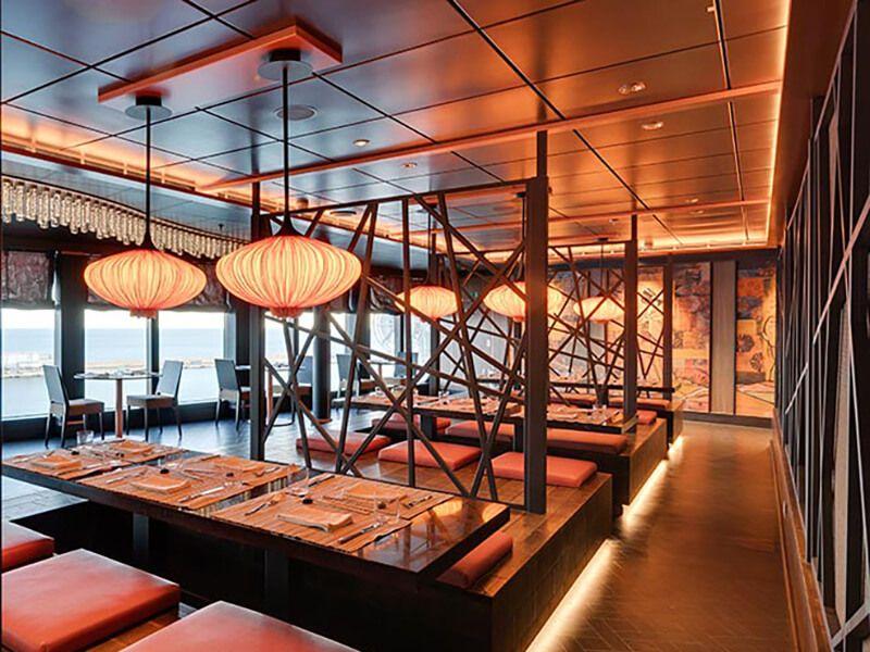 Restaurant asiatique à bord du MSC Seashore