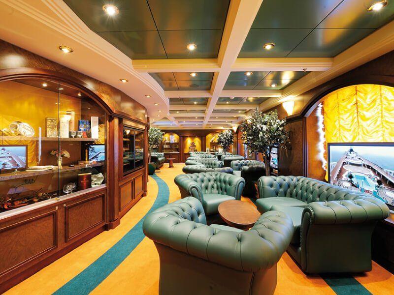 Vente de Cigares à bord du bateau de croisière MSC Poesia