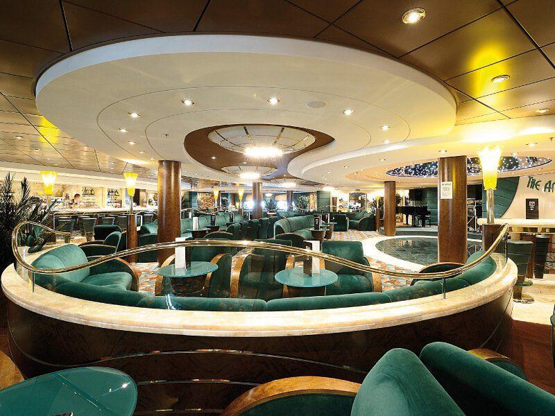 Amber Bar du bateau de croisière MSC Orchestra