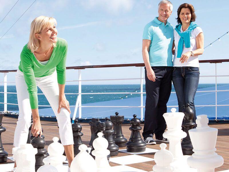 Yoga & Echec - Pont Soleil du bateau Jules Verne