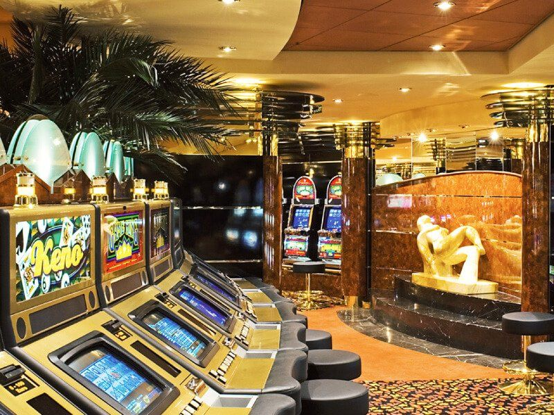 Casino à bord du bateau de croisière MSC Musica