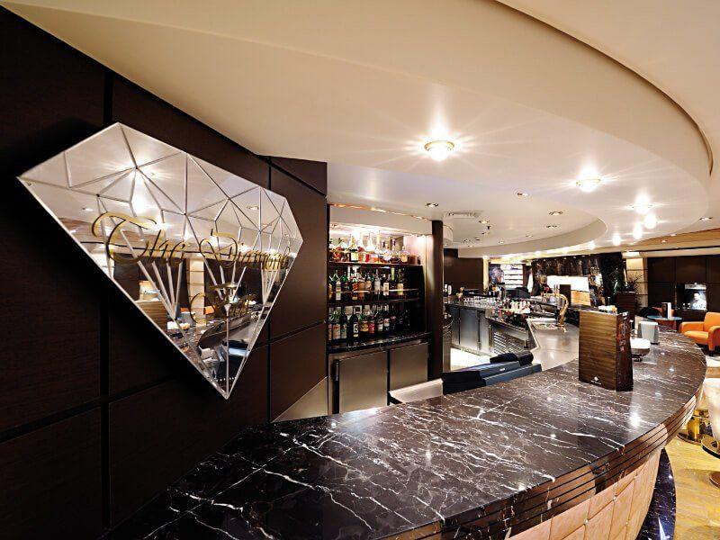 Le Diamond Bar du bateau de croisière MSC Musica