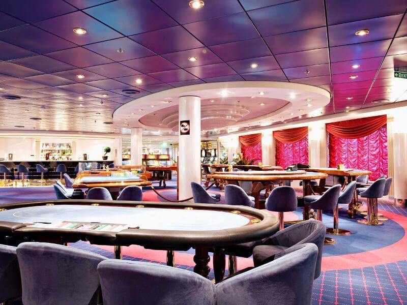 Casino du bateau de croisière MSC Opera