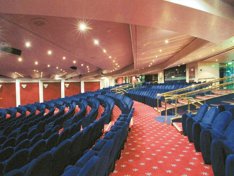 Théâtre du bateau de croisière MSC Opera