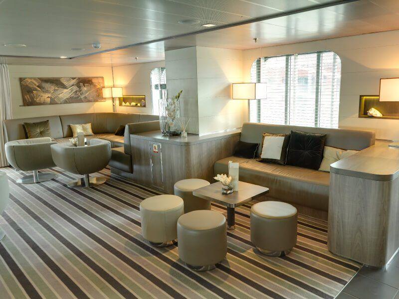 Bar Lounge du bateau de croisière Le Boréal