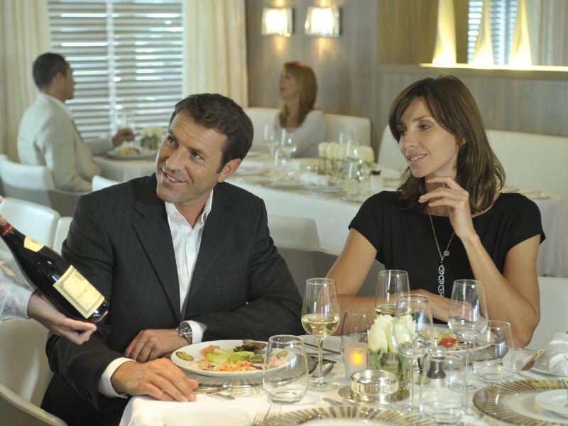 Restaurant gastronomique du bateau de croisière Le Boréal