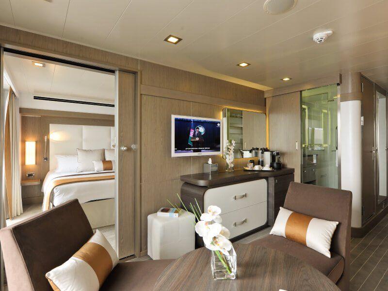 Exemple d'une Suite à bord de l'Austral by Ponant