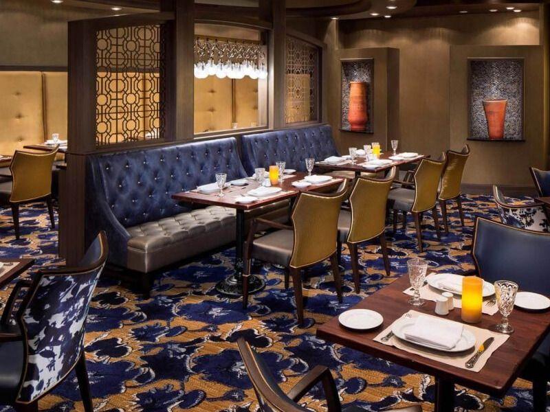 Restaurant Giovanni's du bateau de croisière Adventure of the Seas
