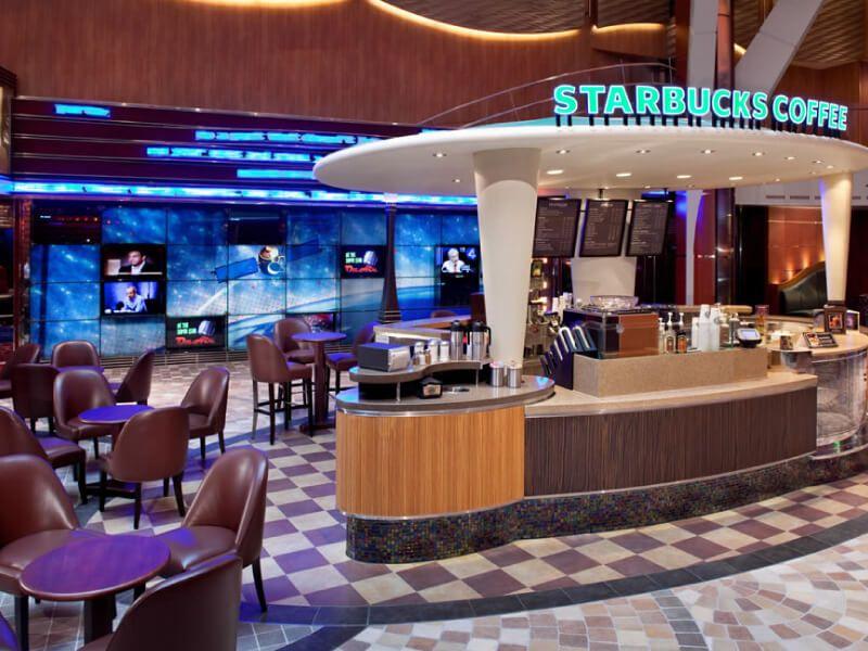 Starbucks Coffee à bord du bateau de croisière Allure of the Seas