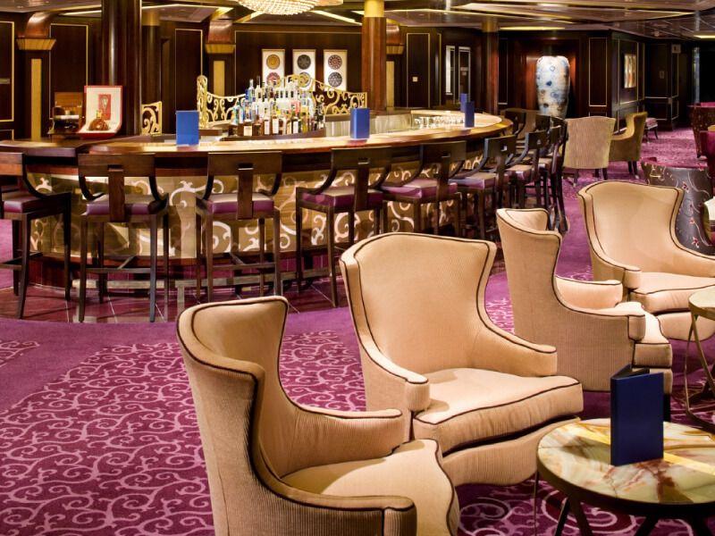 Ensemble Lounge du bateau de croisière Celebrity Solstice