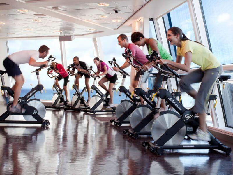 Fitness club du bateau de croisière Celebrity Solstice