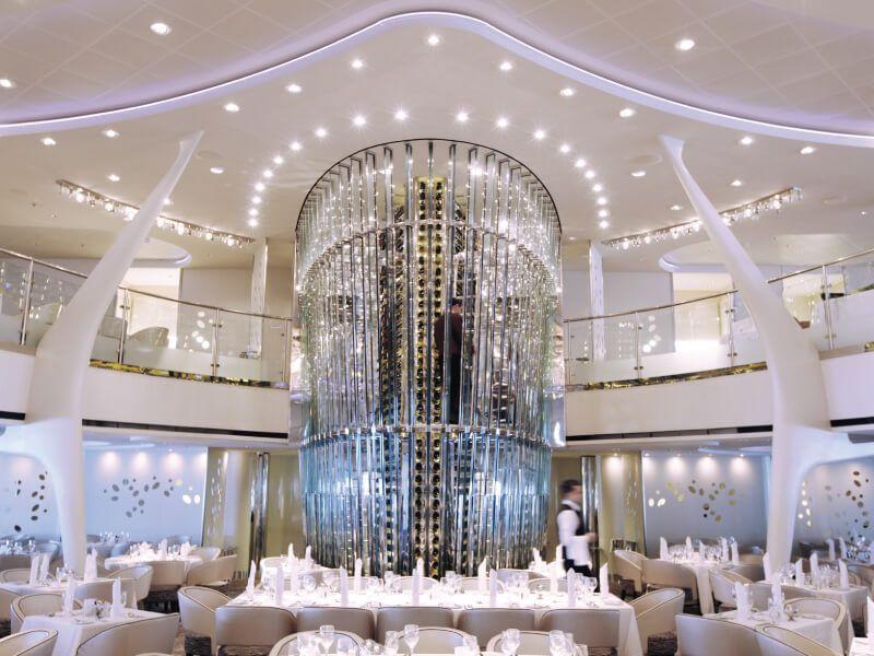 Le Wine Tower du bateau de croisière Celebrity Solstice