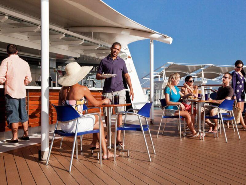 MastGrille du bateau de croisière Celebrity Equinox
