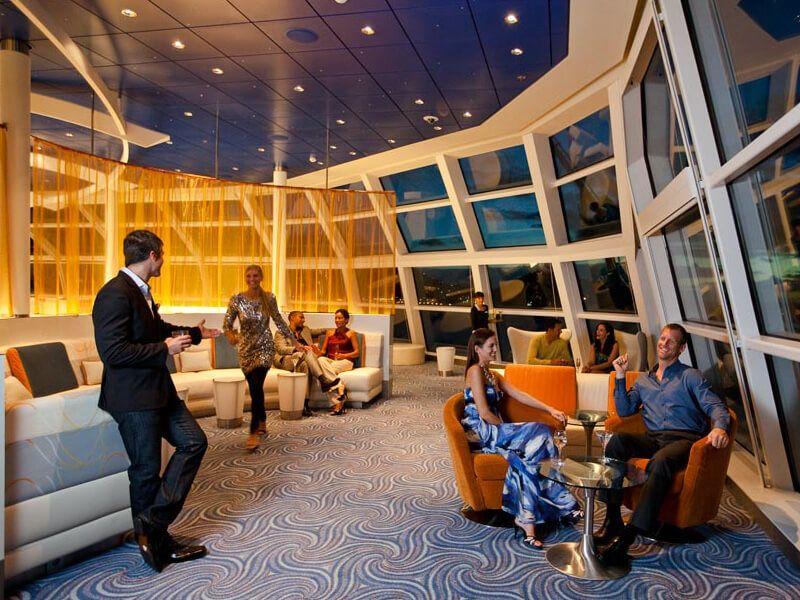 Observation Lounge du bateau de croisière Celebrity Eclipse