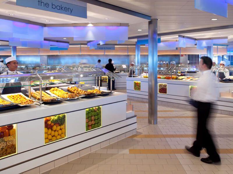 Ocean View Café du bateau de croisière Celebrity Eclipse