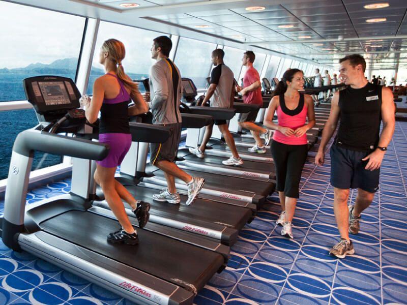 Fitness du bateau de croisière Celebrity Silhouette