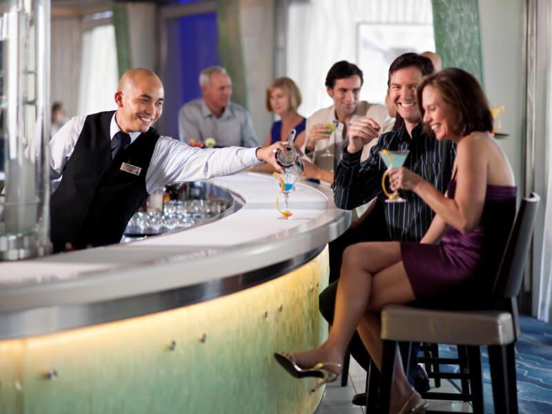 Martini Bar du bateau de croisière Celebrity Silhouette