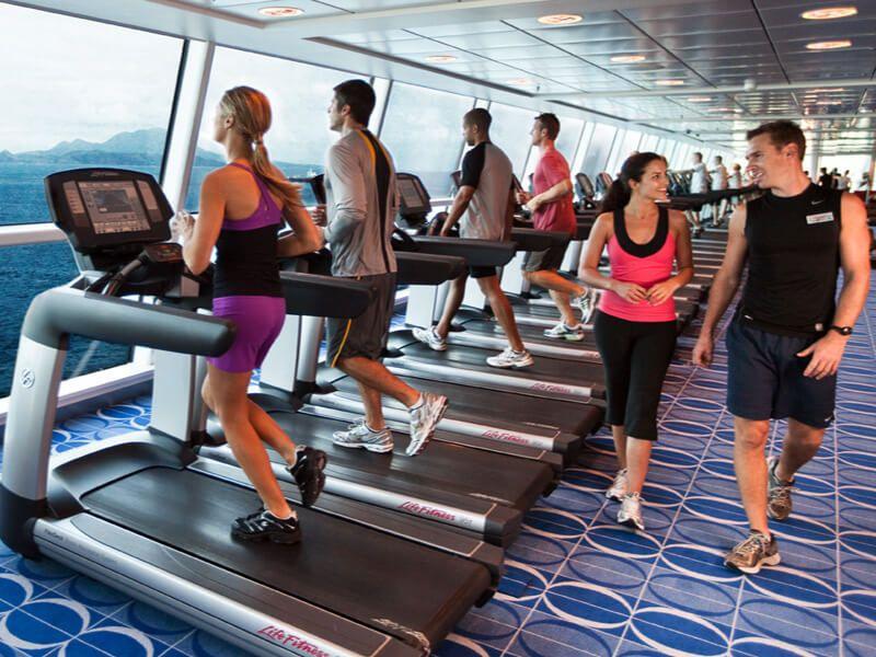 Fitness du bateau de croisière Celebrity Reflection