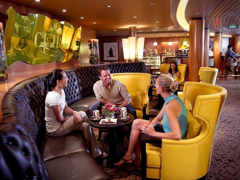 Café Al Bacio du bateau de croisière Celebrity Millennium
