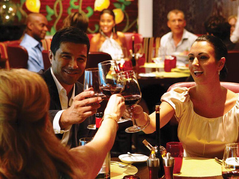 Tuscan Grill du bateau de croisière Celebrity Millennium