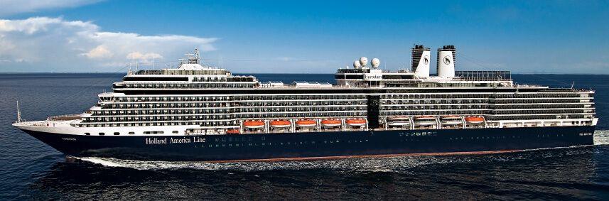 Photo du bateau de croisière MS Eurodam