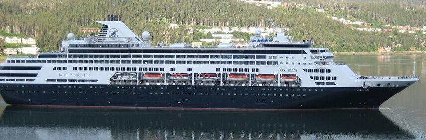 Photo du bateau de croisière MS Veendam
