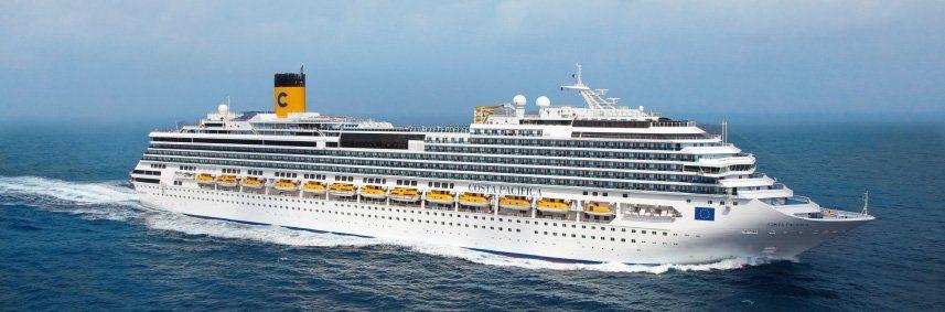 Photo du bateau de croisière Costa Pacifica
