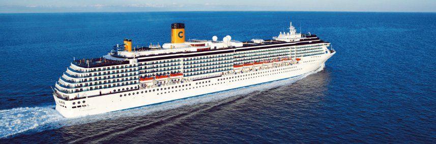 Photo du bateau de croisière Costa Mediterranea