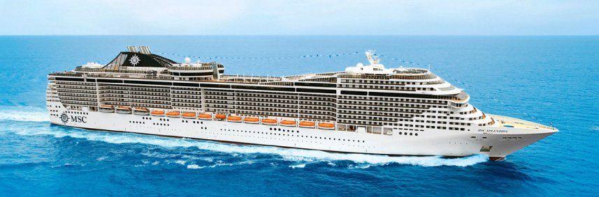 Photo du bateau de croisière MSC Splendida