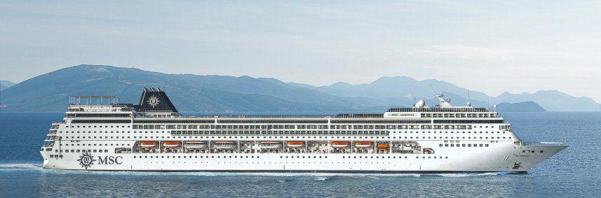 Photo du bateau de croisière MSC Armonia
