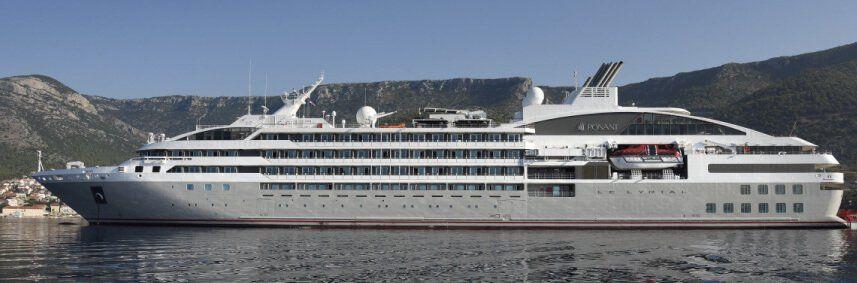 Photo du bateau de croisière Le Lyrial