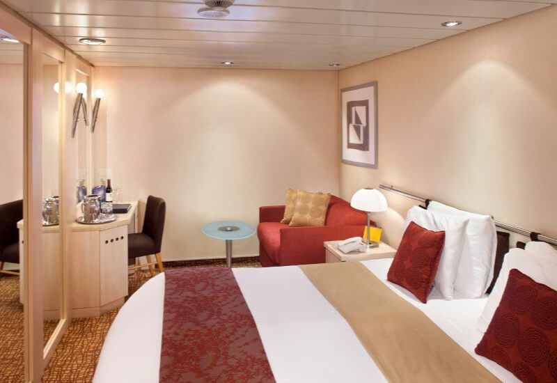 Cabine intérieure du bateau de croisière Celebrity Constellation
