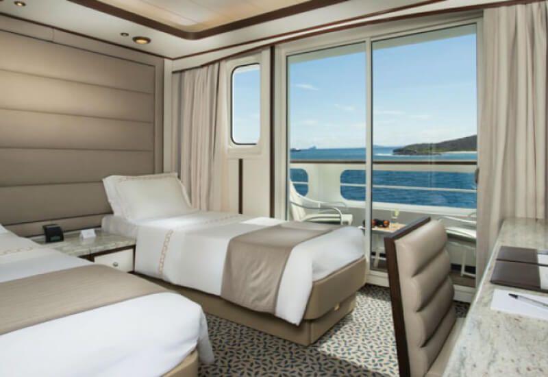 Suite Veranda du bateau de croisière Silver Galapagos