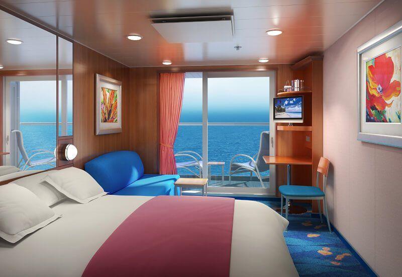 Cabine Balcon du bateau de croisière Norwegian Gem